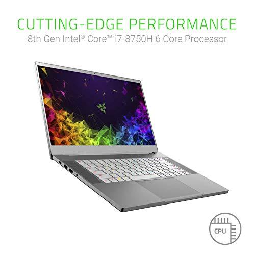 "Razer Blade 15: World's Smallest 15.6"" Gaming Laptop - 144Hz Full HD Thin Bezel - 8th Gen Intel Core i7-8750H 6 Core - NVIDIA GeForce GTX 1070 Max-Q - 16GB RAM - 512GB SSD - Windows 10 - Mercury"