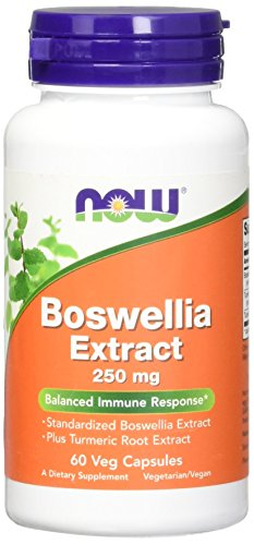 NOW  Boswellia Extractract 250mg,60 Veg Capsules