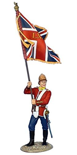 First Legion MB073 British 80th Foot Standard Bearer - Queen's Colors ()