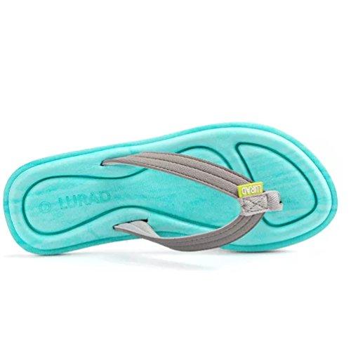 De La Planas Antideslizante Sandalias Chanclas Playa Mujer Azul Zapatos Baymate q8YtwfIt