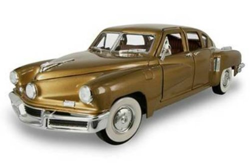Road Signature 1948 Tucker Torpedo Gold 1/18 Diecast Model Car (Signature Model Cars)