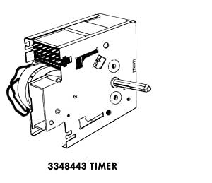 Whirlpool Part Number 3348443: Timer