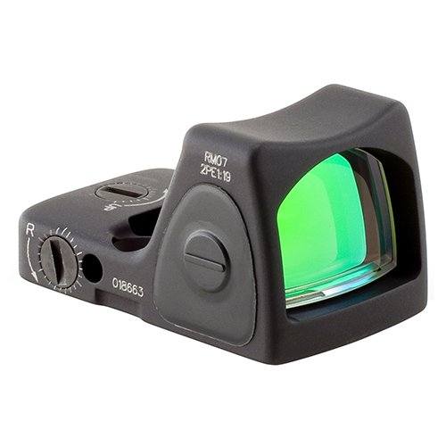 Trijicon RM07-C-700679 RMR Type 2 Adjustable LED Sight, 6.5 MOA Red Dot Reticle, Black (Best Deal On Aimpoint Pro)