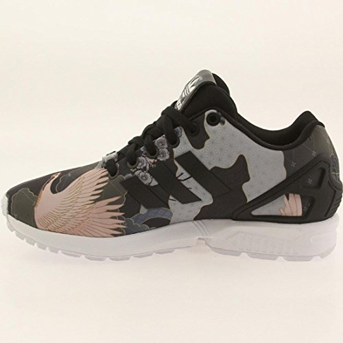 best loved 5c9a1 124a2 lovely Adidas Zx Flux W Women s Casual Shoes Core Black White s75039