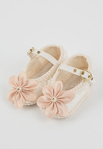 Christening Baptism baby girl shoes. Luca Gobbi Collection M01 (5M 43/4