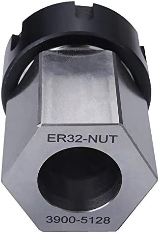 WEI-LUONG Tools Hard Steel Hex ER-32 Collet Chuck Block CNC Lathe Tool Holder Metal Lathes Drill Chuck