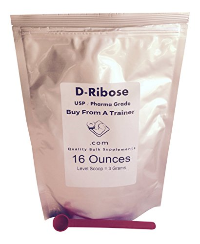 16 Ounces D-Ribose Powder Ener...