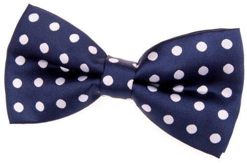 Retreez Classic Polka Dots Woven Microfiber Pre-tied Bow Tie (5
