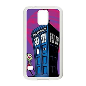 DAZHAHUI Mysterious doctor unique house and Peanuts Cell Phone Case for Samsung Galaxy S5 wangjiang maoyi
