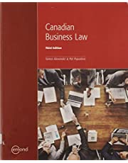 Canadian Business Law, 3rd Edition