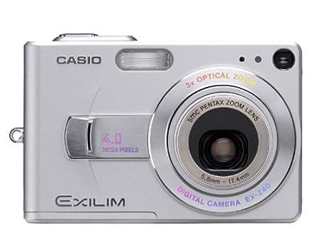 casio exilim ex z40 4mp digital camera with 3x optical amazon co uk rh amazon co uk casio exilim ex z40 manual Casio Chronograph Manuals