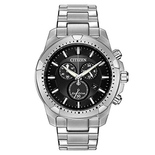 Mhw Calendrier.Citizen Black Dial Stainless Steel Men S Watch At2260 53e