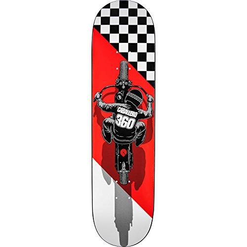 そして計算するタクトPowell Peralta Steve Caballeroフラットトラックホワイト/レッド/ブラックスケートボードDeck – 8.25