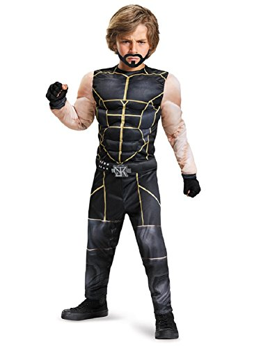 Seth Rollins Classic Muscle WWE Costume, (The Rock Wrestling Costume)