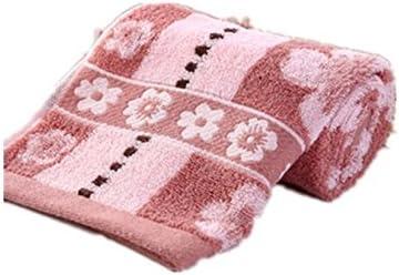 Packs para bajo precio Pack Toallas 100% algodón Flores Forma 33 * 74 CM de algodón de rizo para secadora., 1er/Pack