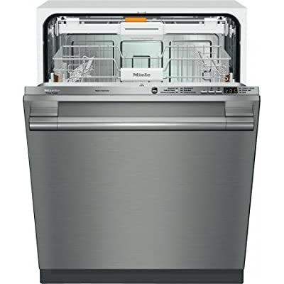 G6165SCSF | Miele Futura Crystal Dishwasher - Stainless Steel