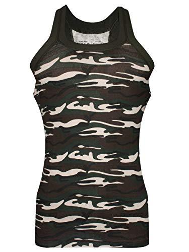 Dixcy Scott UNO Men #39;s Camo Print Cotton Vest