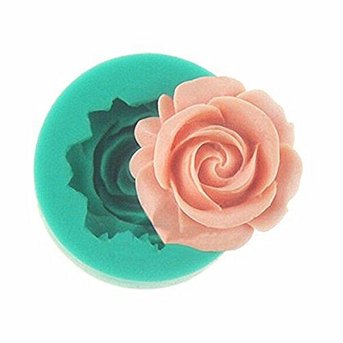Jysport - Molde de silicona para hornear galletas y dulces o para hacer jabón o hielo, diseño en forma de corazón: Amazon.es: Deportes y aire libre