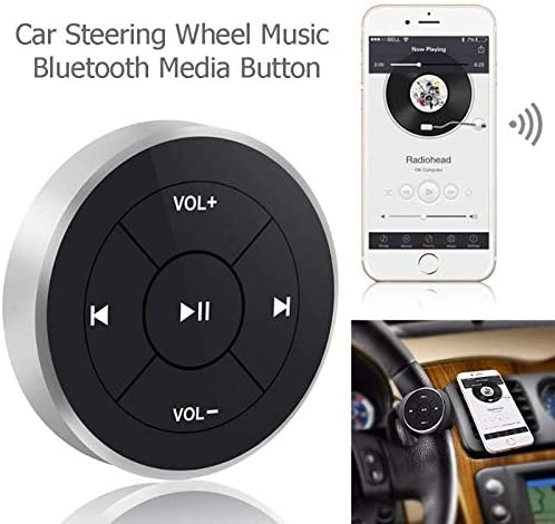 MP3 Wireless Bluetooth Media Audio Music Remote Control Button Steering Wheel