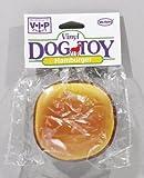 VO-TOYS HAMBURGER DOG TOY Squeaks, My Pet Supplies