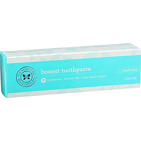The Honest Company Honest Toothpaste - Adult - Fresh Mint - 6 oz (Dycal Cement)
