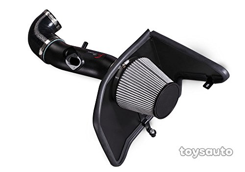 - R&L Racing AF Dynamic Black Cold Air Filter Intake Systems with Heat Shield 2010-2011 for Chevy Camaro LS LT 3.6L V6