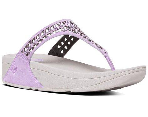 13ec4bf1d FitFlop Women s Carmel Toe-Post Suede Dress Sandal