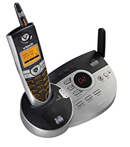 VTech i5866 5.8 GHz DSS Expandable Cordless Phone with Digital Answering System