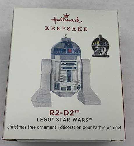 Hallmark Keepsake Christmas 2019 Year Dated Lego Star Wars R2-D2 Ornament, R2D2