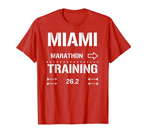 Runner Training Marathon (Mens Marathon Runners Training Tee 26.2 - Runners T-shirt XL Red)