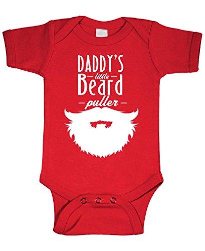 Daddy's Little Beard Puller - Epic Manly - Cotton Infant Bodysuit, NB, -