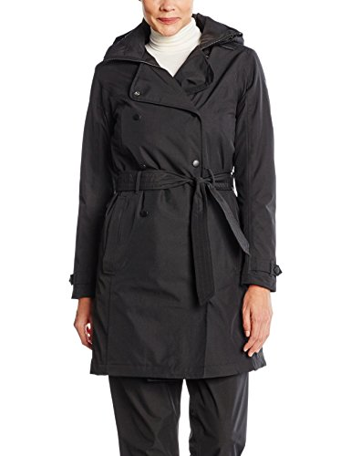 Helly Hansen Women's Welsey Trench Insulated, Black, - Insulated Coat Classic
