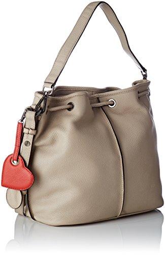 épaule Mastic porté Beige Sac Valentine Beige Mac Douglas Emira CSXfqwx66R