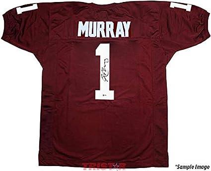 11a5a1f34ec Kyler Murray Autographed Jersey - Oklahoma Sooners Custom - Autographed  College Jerseys