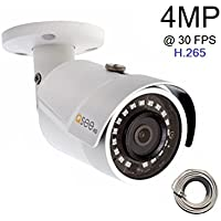 Q-See Camera IP HD 4MP @ 30 FPS with H265 (QCN8068B)