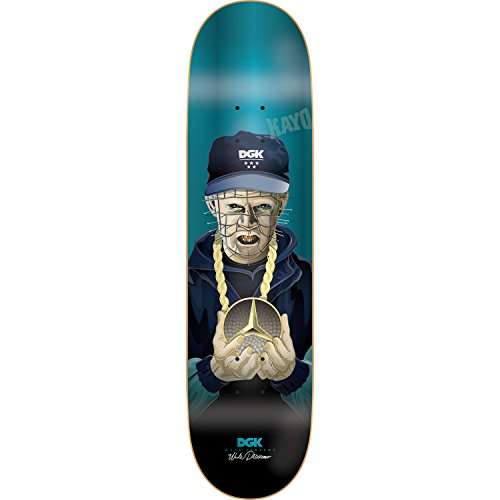 DGK Skateboard Deck Wade G Killers Foil Blue 8.06'