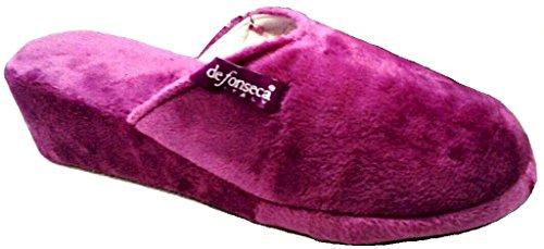 orchidee Damen violett De EU Hausschuhe 36 Fonseca Rx7xqwO0v