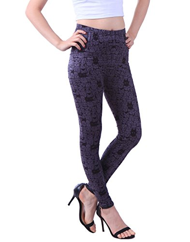 HDE Womens Leggings Fashion Stretch