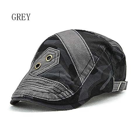Amazon.com: ForShop Camouflage Summer Hats for Men Women Casual Cotton Beret Caps Gorras Planas Boinas Male Flat Sun Caps Adjustable Berets: Kitchen & ...