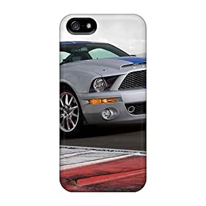 Hot Tpu Covers Cases For Iphone/ 5/5s Cases Covers Skin - Ford Mustang Shelby Gt500kr 2008