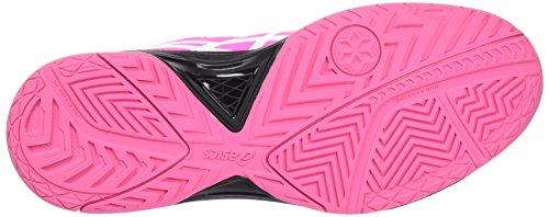 Asics Gel-dedicare 5 Scarpe Da Corsa Multicolore (di Colore Rosa Caldo Nero Bianco)