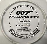Rare Vintage James Bond 007 Collector Plate Sean