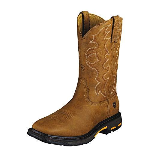 Buy men's work boots for narrow feet