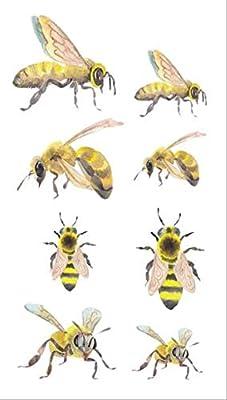 CCWL Insecto Abeja Tatuaje Pegatina Impermeable Temporal Tatuaje ...
