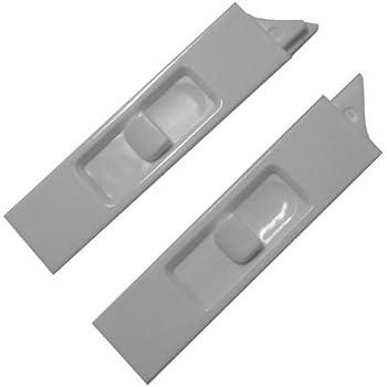 Slide Co 173974 W Vinyl Window Tilt Latch White 1 Pair