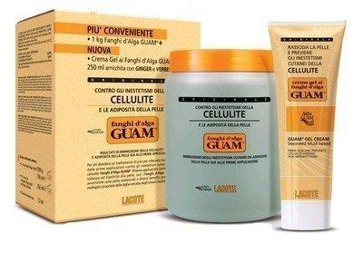Convenience GUAM seaweed mud classic 1kg + anti-cellulite gel cream 250ml