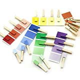 MEROCO Montessori Color Matching Sorting Clips Game Educational Toys for Boys & Girls