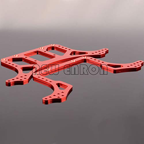- N10211 Aluminum Rock Racer Conversion Chassis for RC 1/10 Axial AX10 Scorpion Red