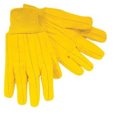 Chore Gloves - heavy weight golden chore glove gold fleece [Set of 12]