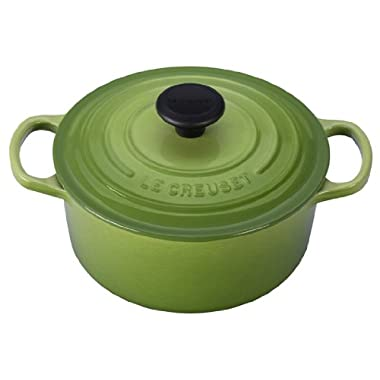 Le Creuset Signature Enameled Cast-Iron 2-Quart Round French (Dutch) Oven, Palm